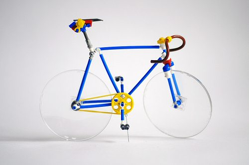 Fantastic LEGO Bicycle