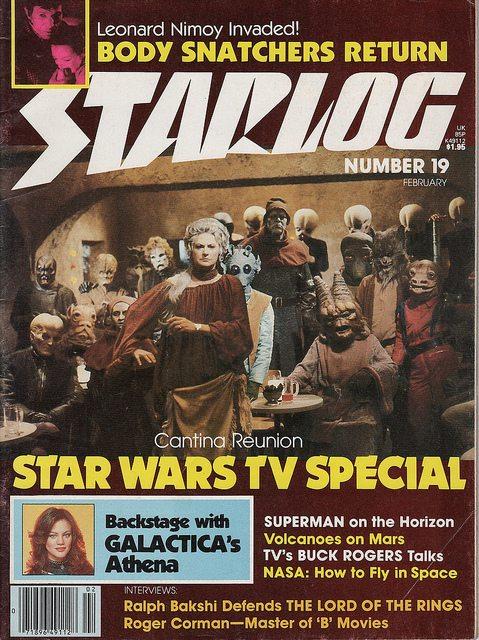 A classic Starlog cover.