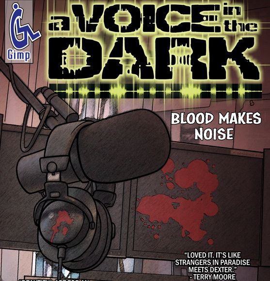 A Voice In the Dark: Drawn Completely by Mouth