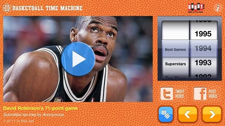 Sports Geeks – Got to Get Basketball Time Machine