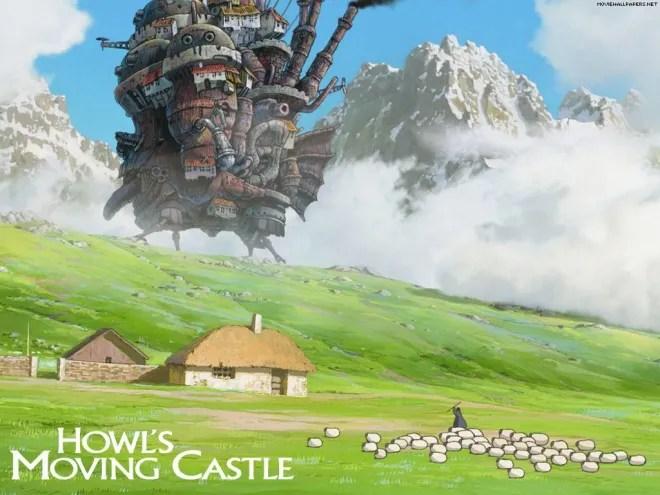 Howl's Moving Castle, from Disney/Studio Ghibli