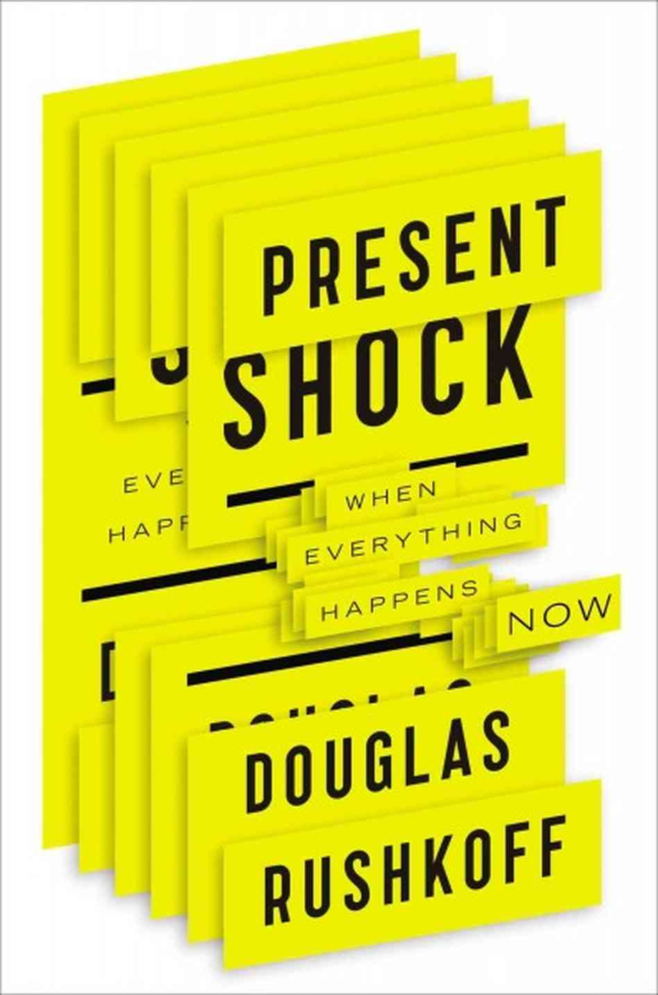 A GeekDad Review of Present Shock by Douglas Rushkoff