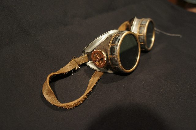 How to Make Your Own Steampunk Goggles