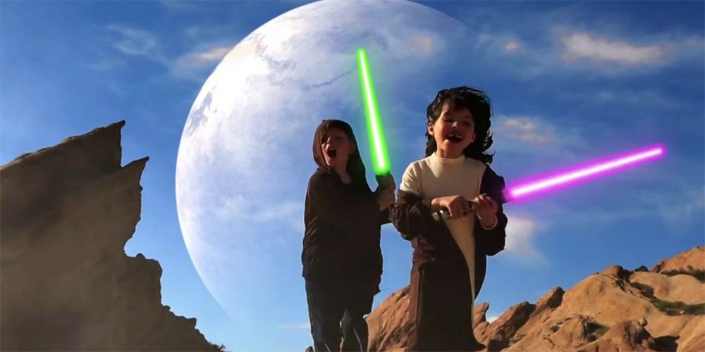 Star Wars Episode 7: Return of the Junior Jedi