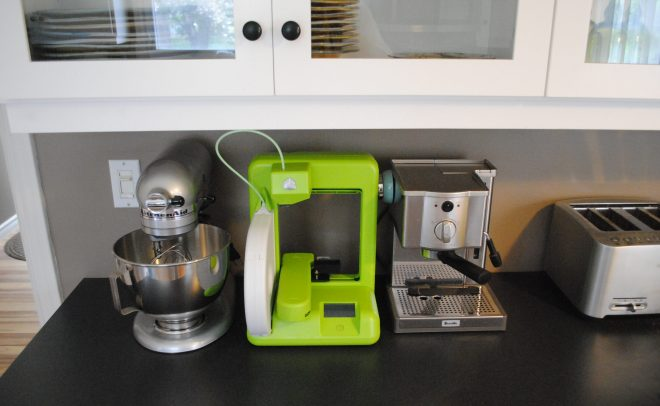 Cube 3D Printer in green