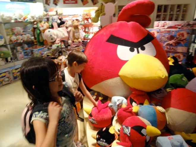 Angry Birds in Taiwan