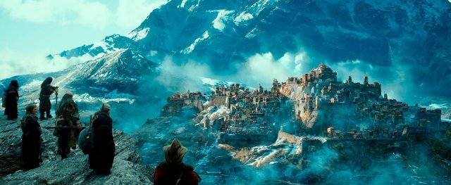 The ruined city of Dale, at the foot of Erebor(Image: MGM/New Line/Warner Bros.)