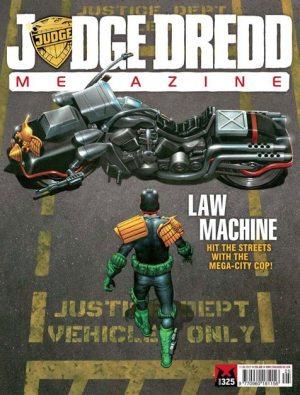 The Judge Dredd Megazine, now available on iOS