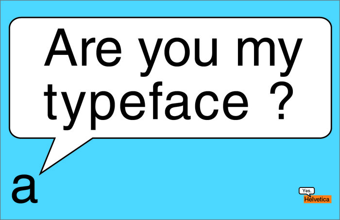 Are You My Typeface? is Typography for Toddlers
