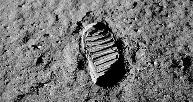 Apollo 11 - Buzz Aldrin's Bootprint