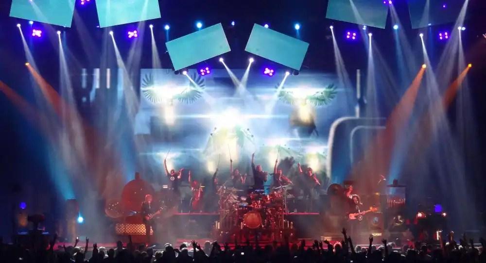 Rush, in concert