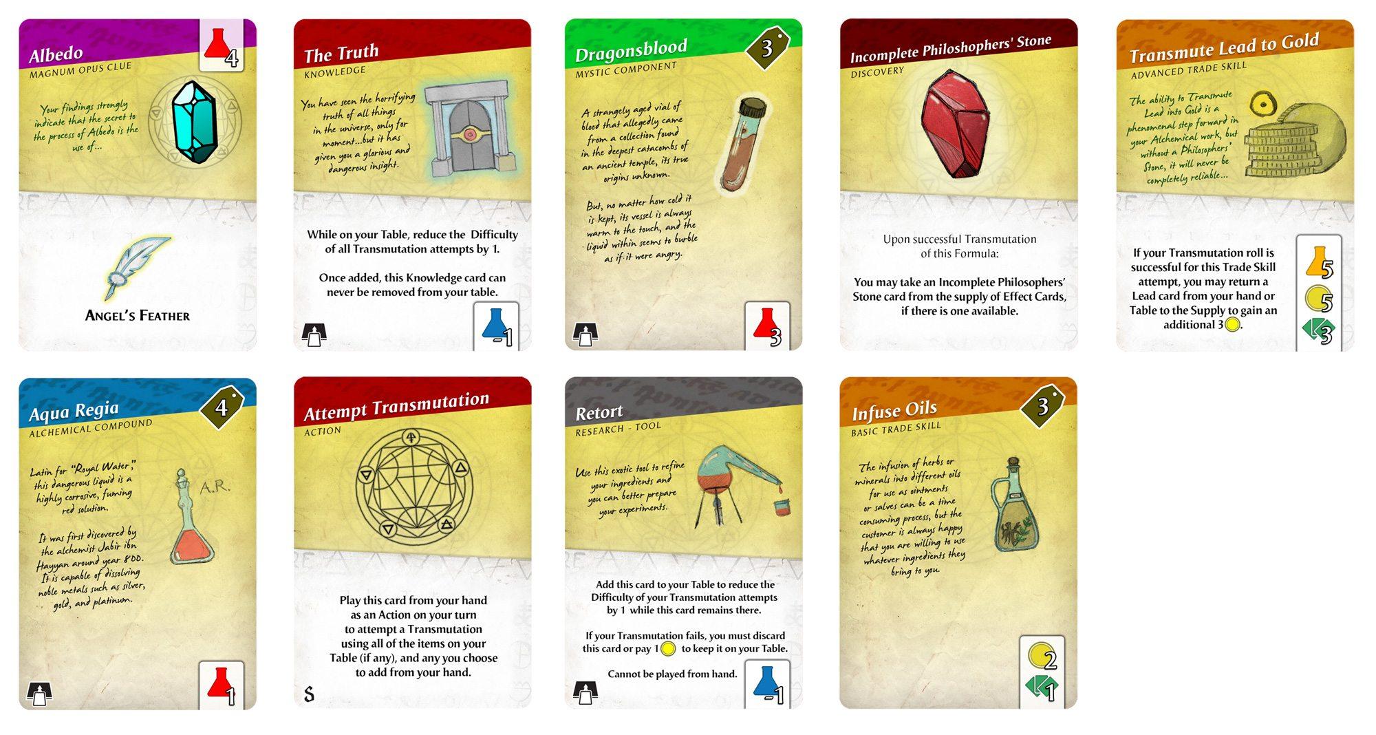 Magnum Opus cards