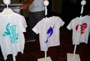 #TheLittleMermaidEvent Silk-Screened Shirts, Image: Nicole Wakelin