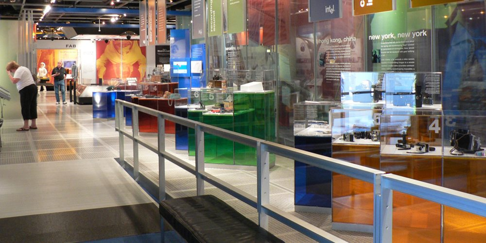 Have Geeklets, Will Travel: Intel Museum