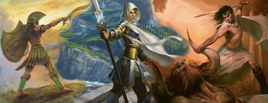 Magic: The Gathering's Theros Set Releases Tomorrow!