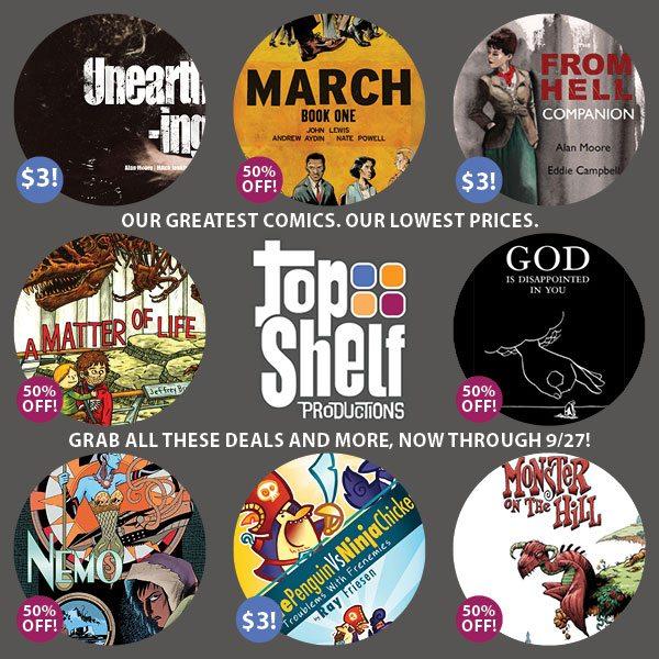 Top Shelf Sale
