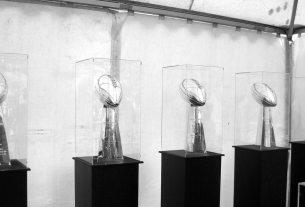 49ers Vince Lombardi trophies