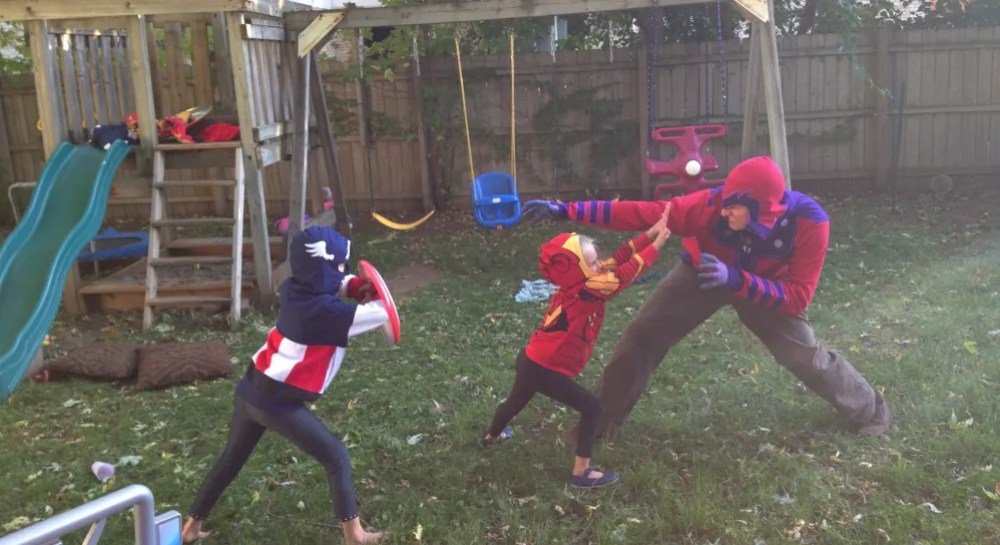 Magneto isn't evil, he's just misunderstood.Try and explain mutant rights to my kids.   Ryan Carlson 2013