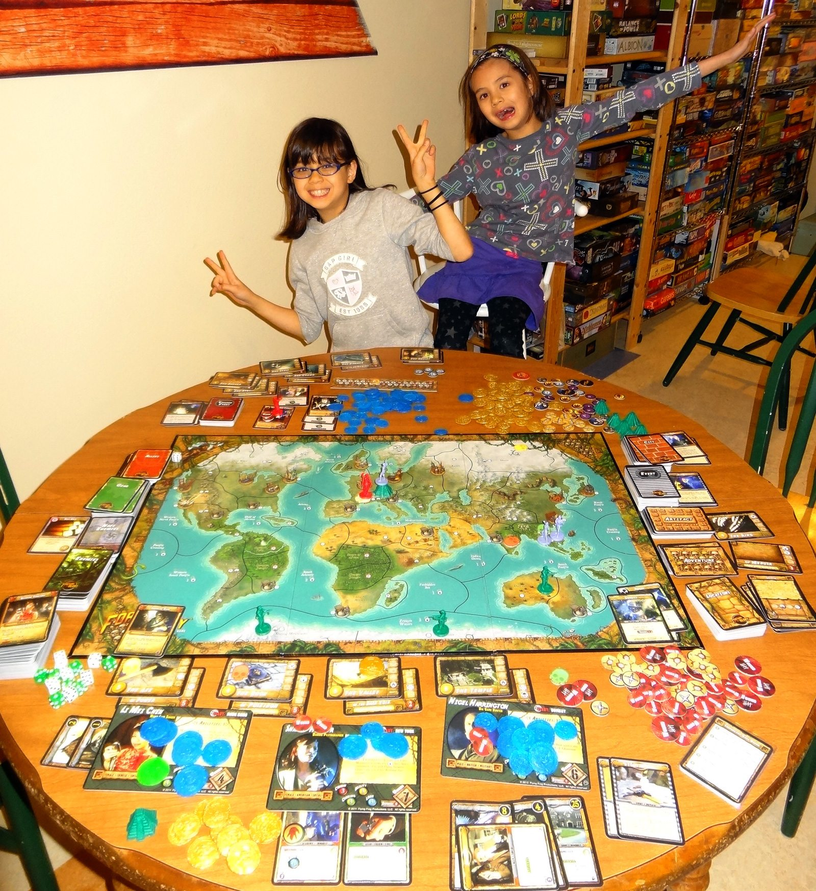 Playing tabletop games - Two Good Reasons To Play Games With My Kids