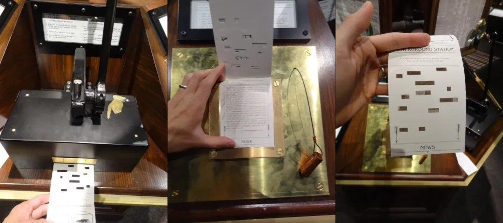 Detective's notebook