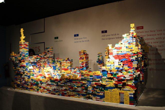 Collaborative LEGO Art