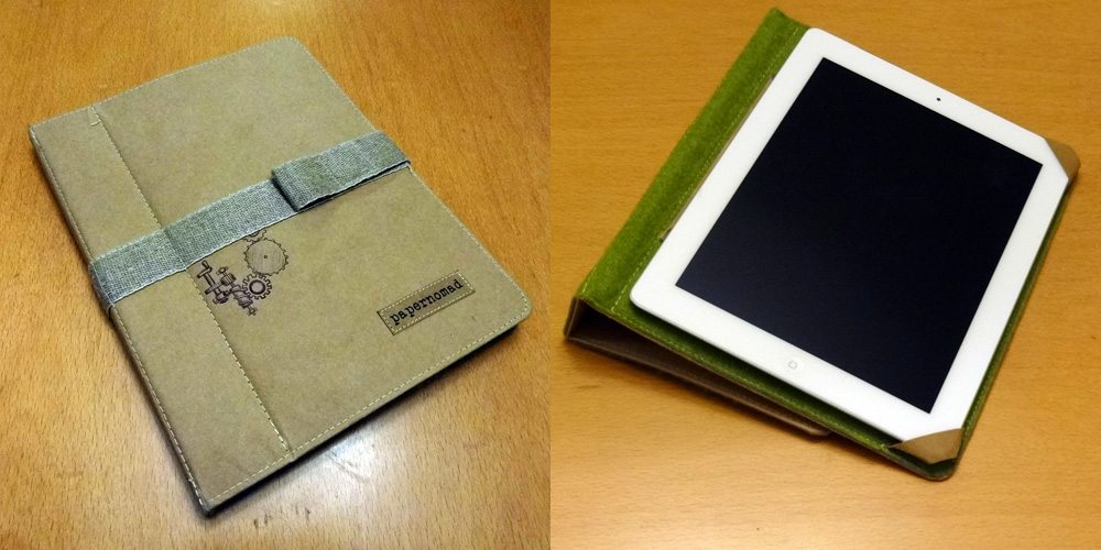 Papernomad iPad case