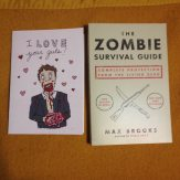book and card