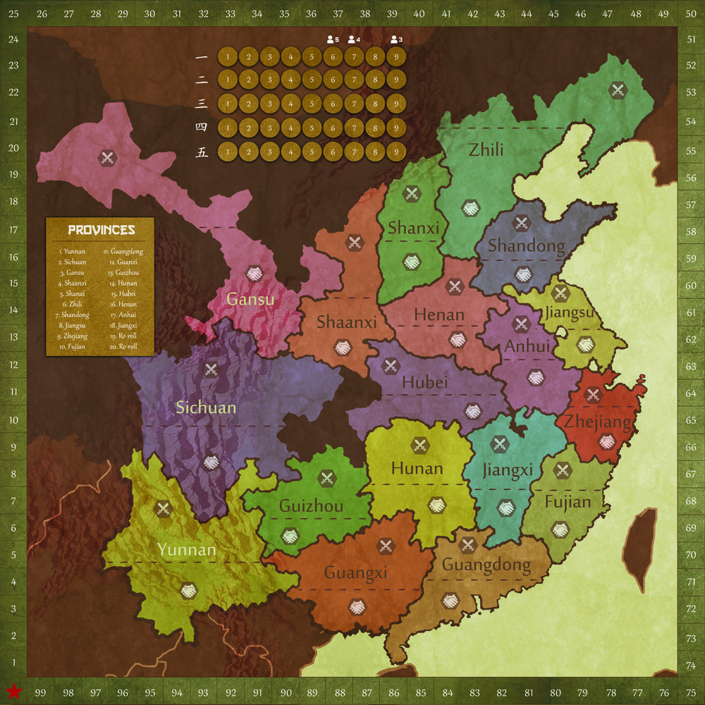 Eternal Dynasty map