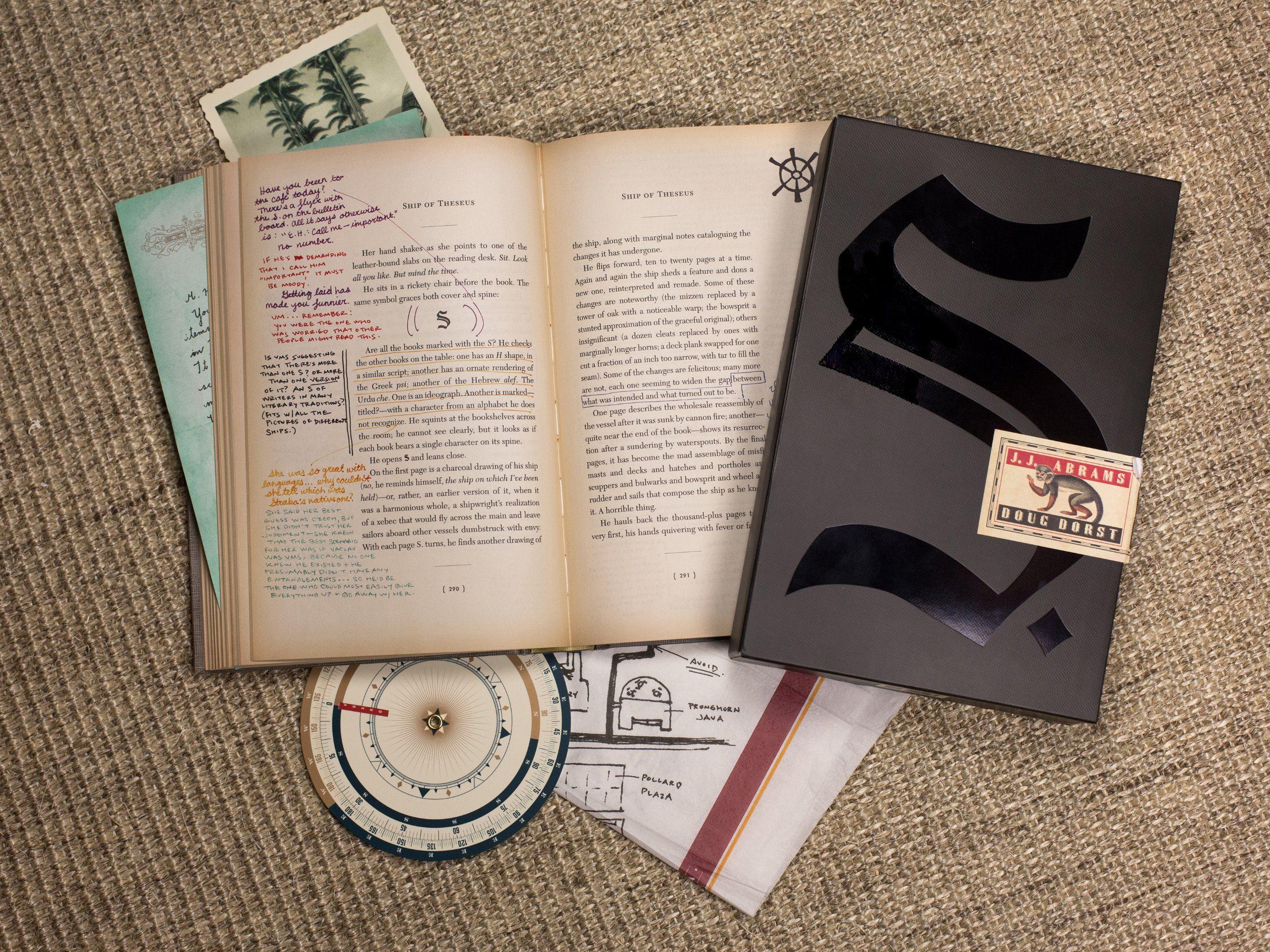 S. by J J Abrams, Doug Dorst