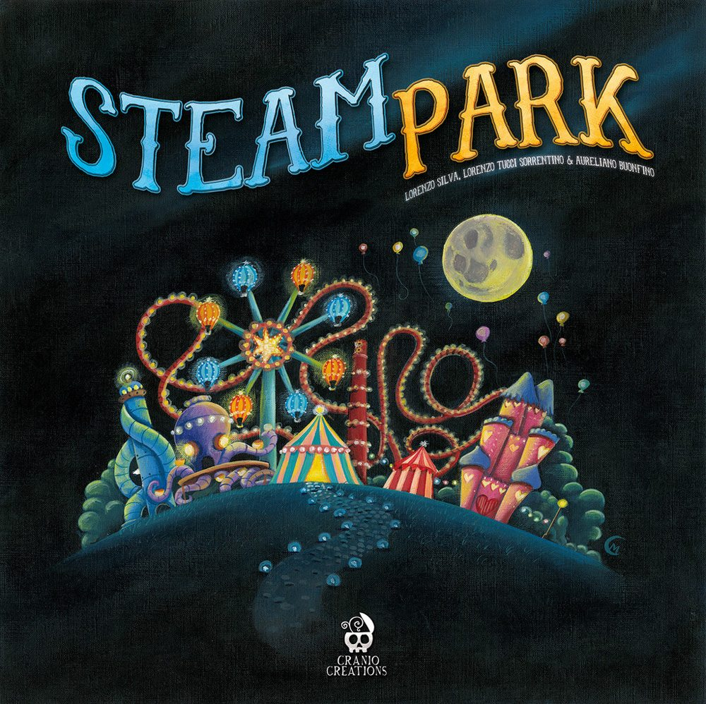 Steam Park cover