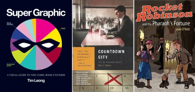 Super Graphic, Countdown City, Rocket Robinson