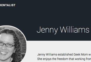 Jenny Williams - The Parentalist