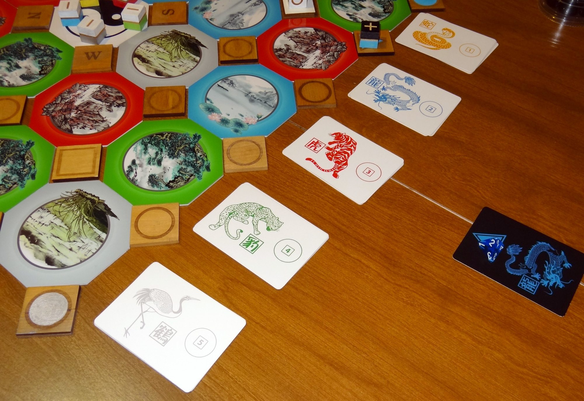 Kickstarter Tabletop Alert: Lineage: The Martial Arts Strategy Game