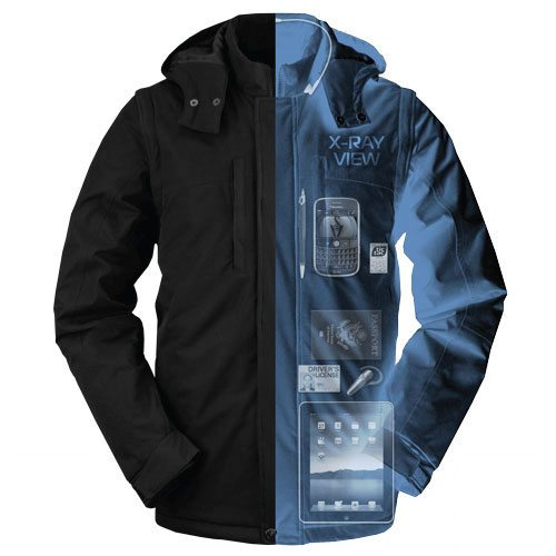 An X-ray view of the Rev Plus. Imgae: http://www.scottevest.com/
