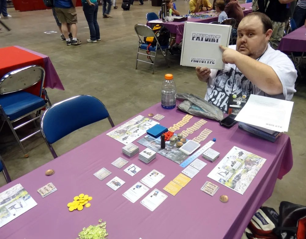Pay Dirt at Gen Con