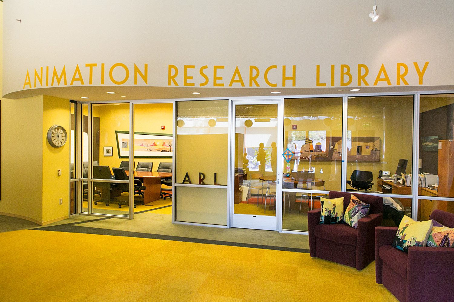 Disney Trip: Visiting the Disney Animation Research Library