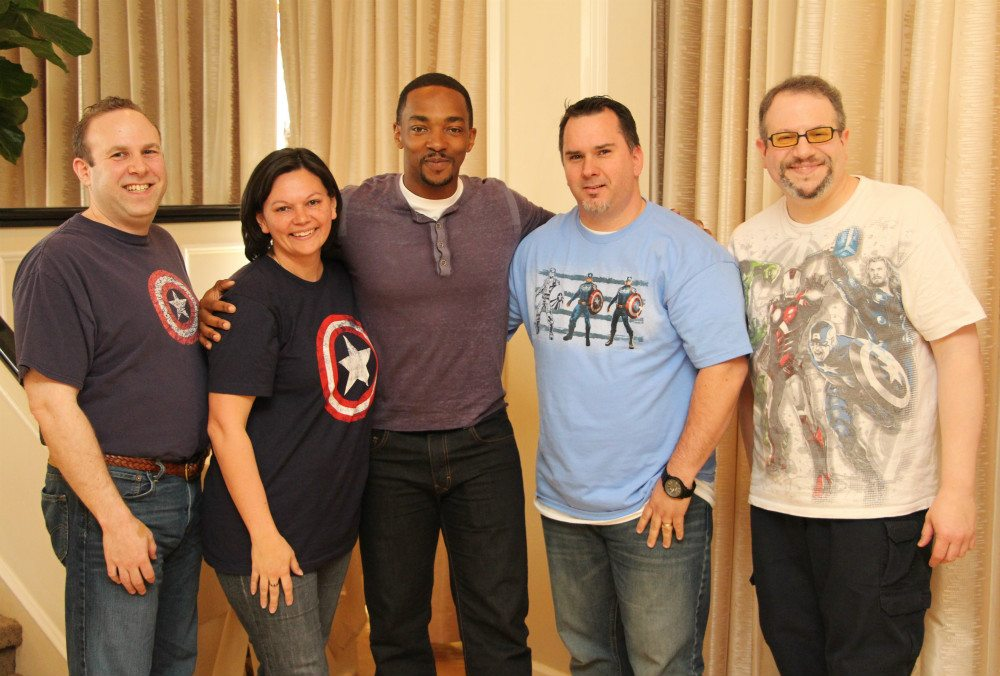 Anthony Mackie Talks About Chris Evans'