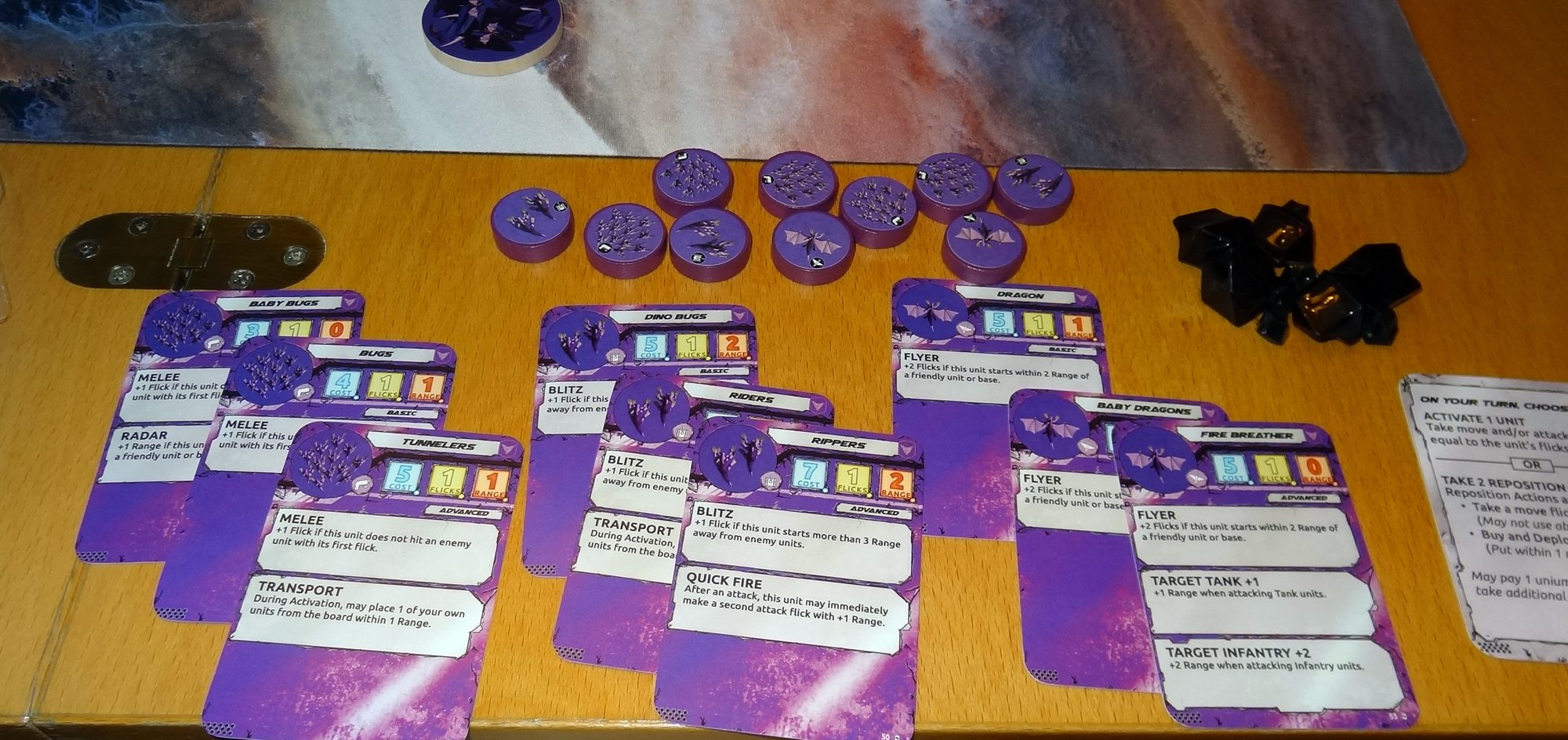Flick Wars purple faction