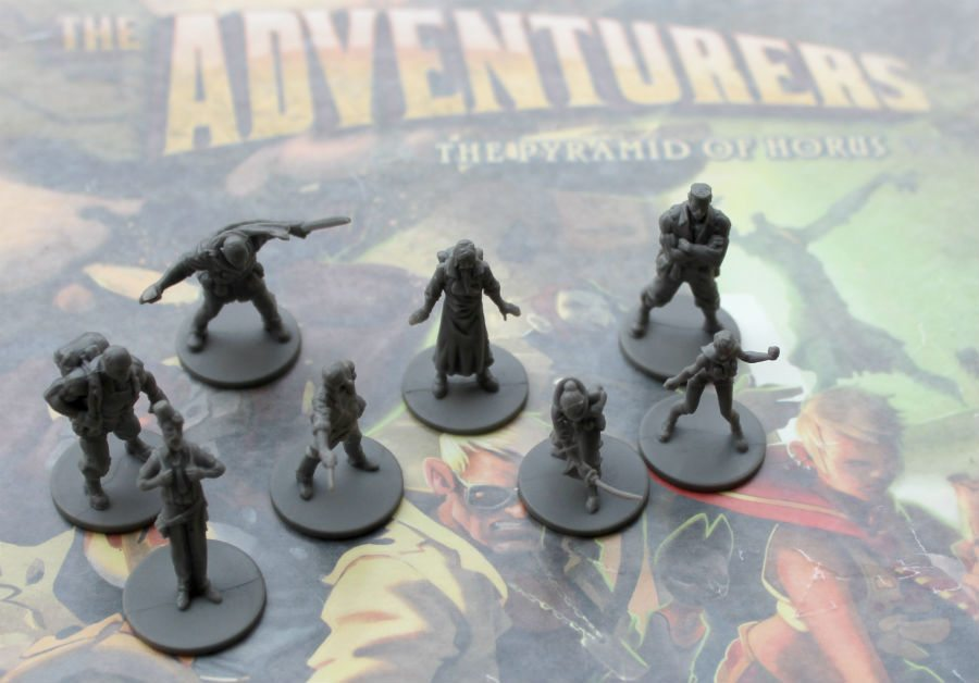 The Adventurers Figures