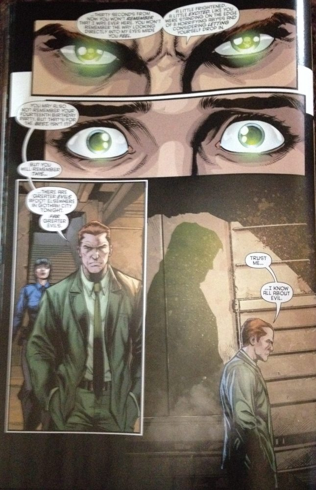 The Spectre Returns to Gotham, page from Batman Eternal #2, copyright DC Comics