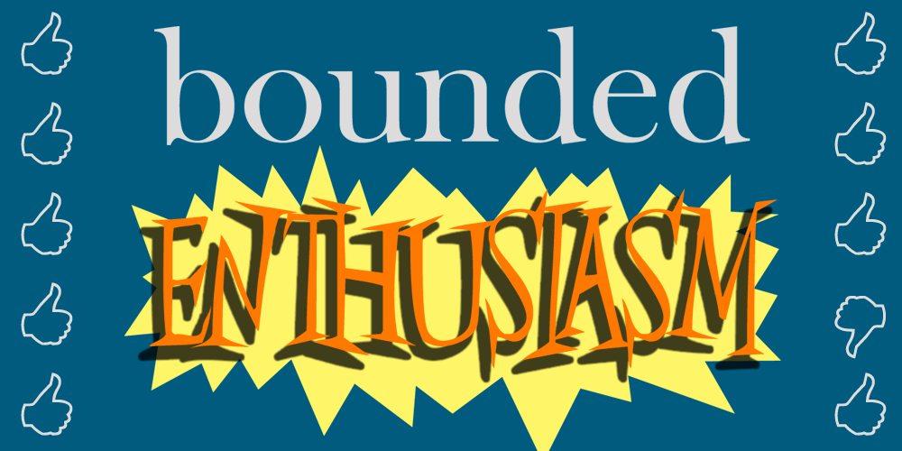 Bounded Enthusiasm Podcast Logo