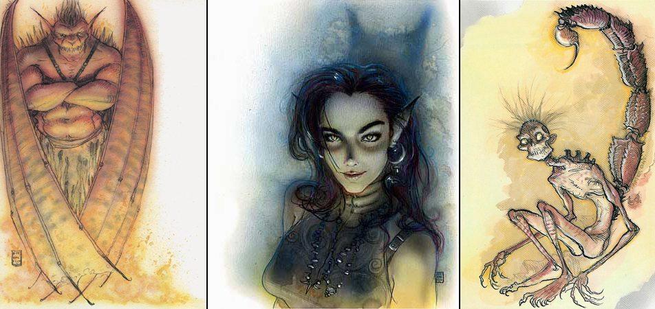 DiTerlizzi D&D artwork