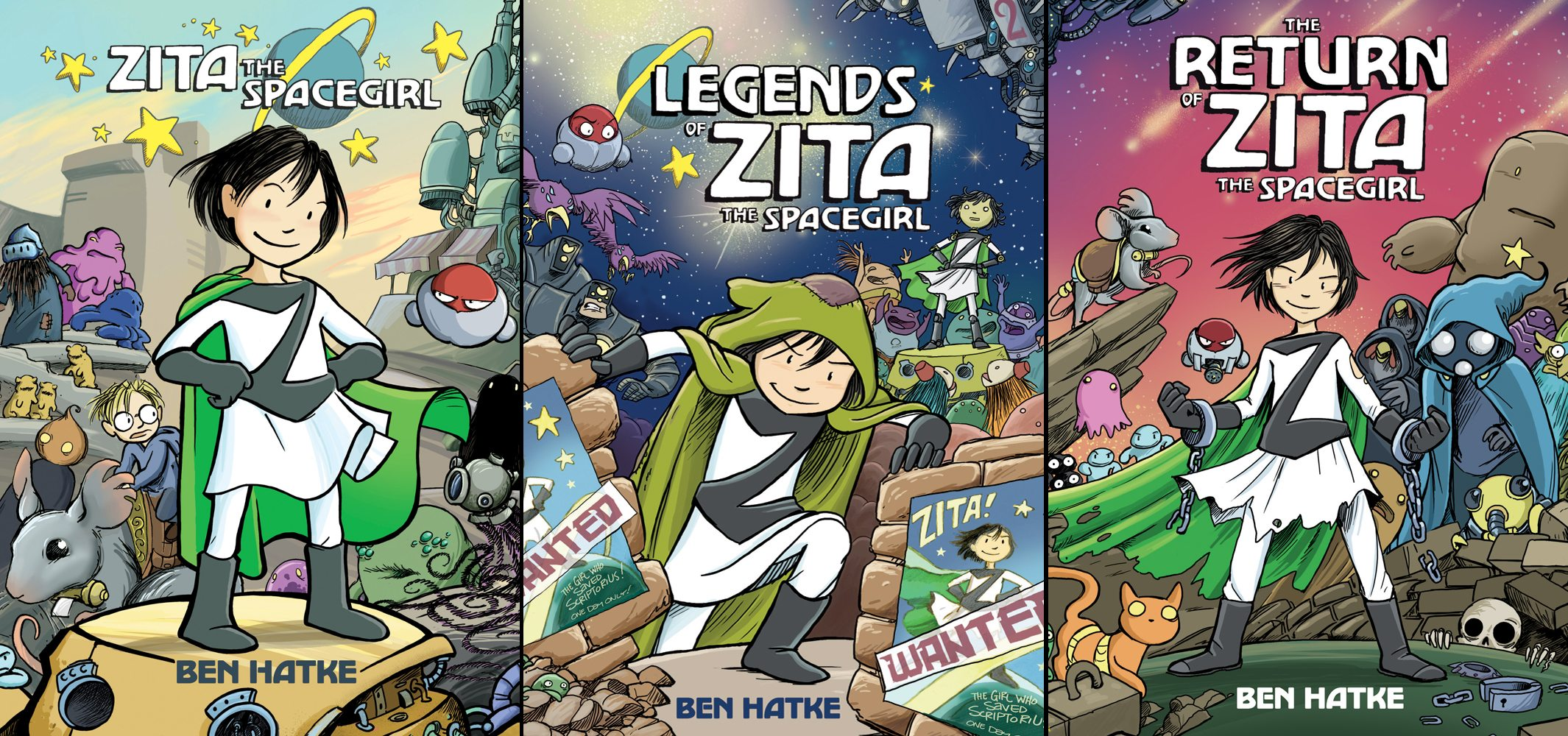 Zita the Spacegirl trilogy