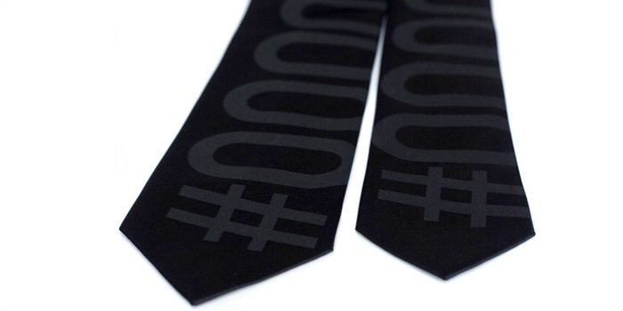 Black Tie #000000