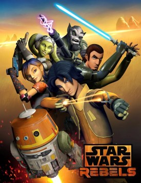 Star Wars Rebels, from Disney and Lucasfilm