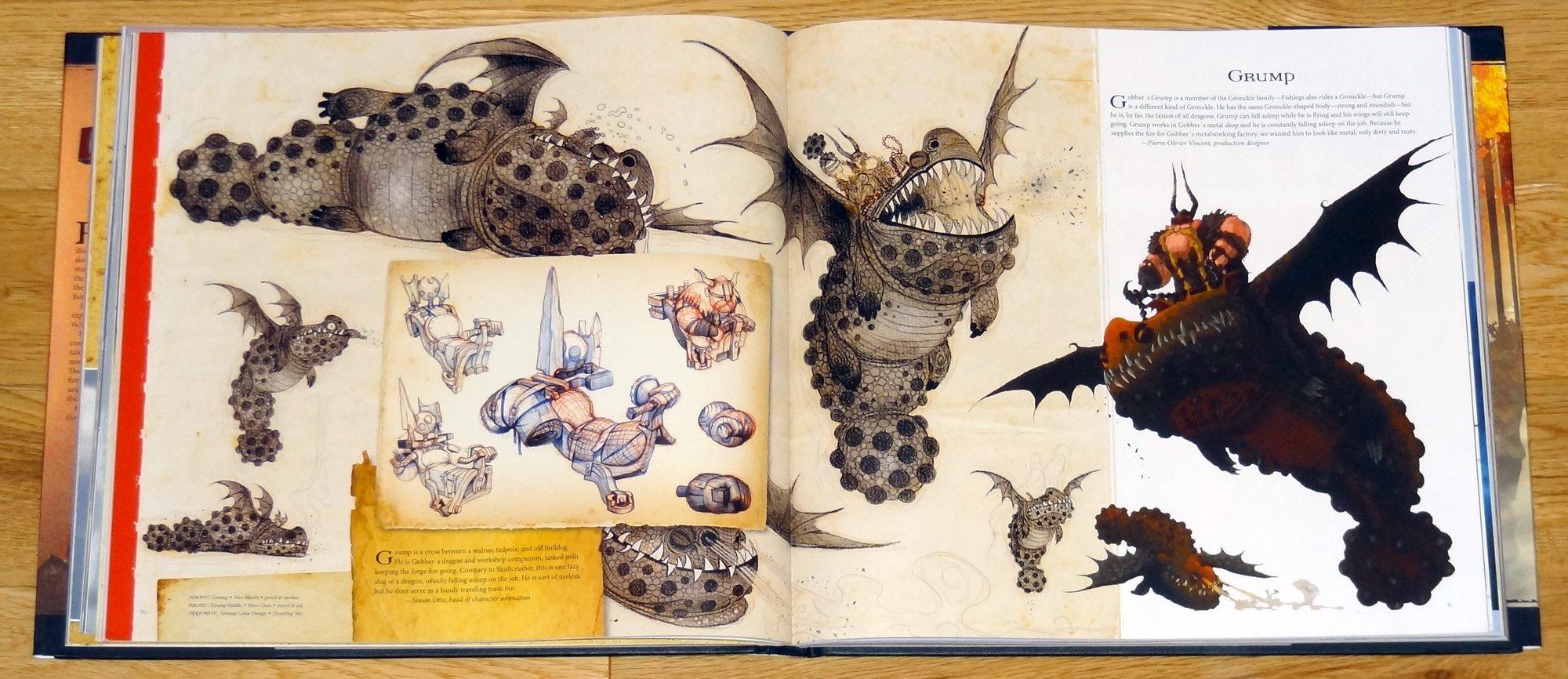 how to train your dragon artbook pdf