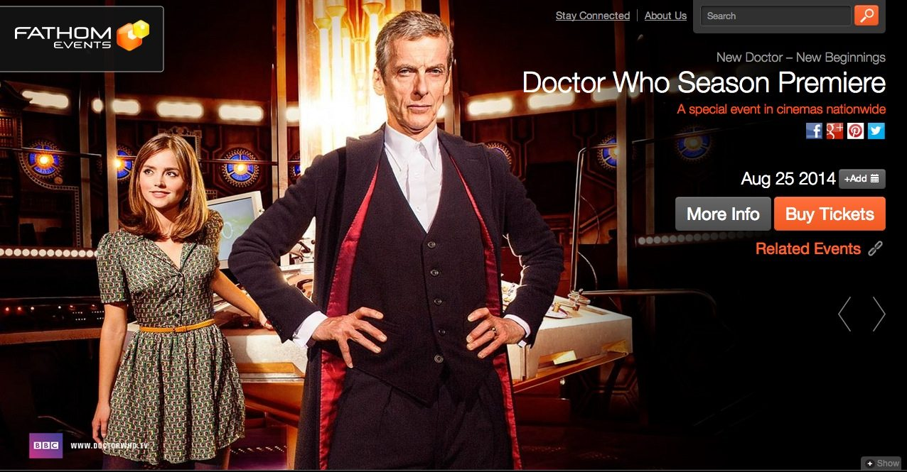 "Take a ""Deep Breath"" — Doctor Who to Premiere at a Theater Near You"