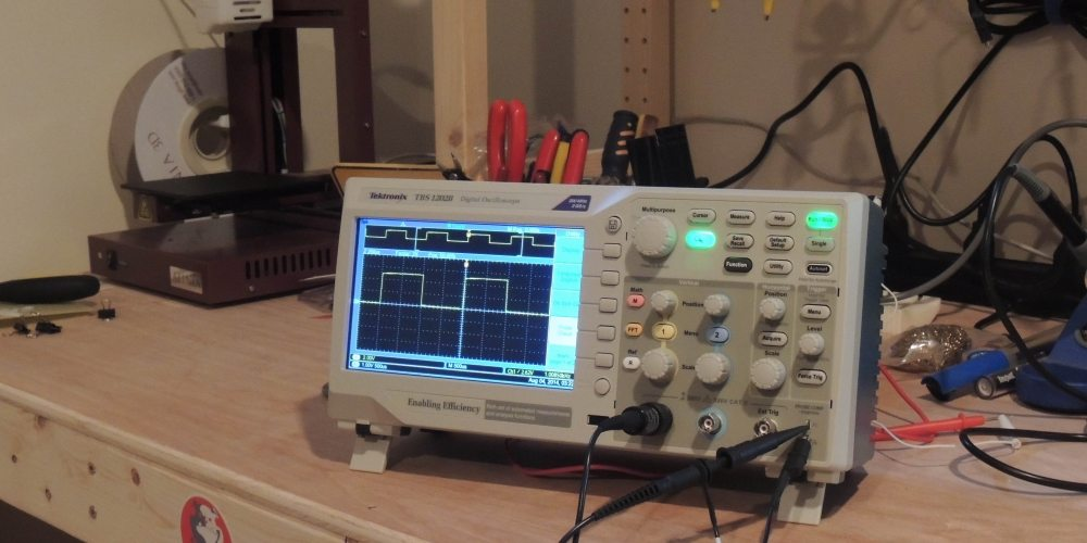 Win a Tektronix Oscilloscope With GeekDad!