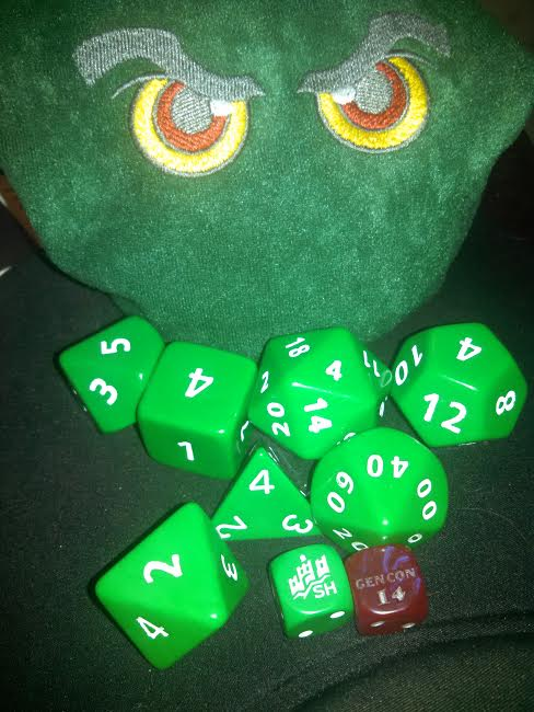 Can you have too many dice? I think not.