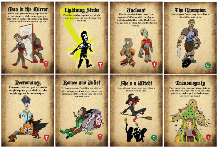 Beguile cards